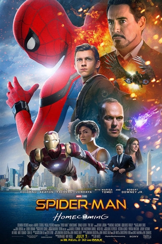 「スパイダーマン:ホームカミング」海外版の新ポスターがダサすぎてコラ祭りに発展