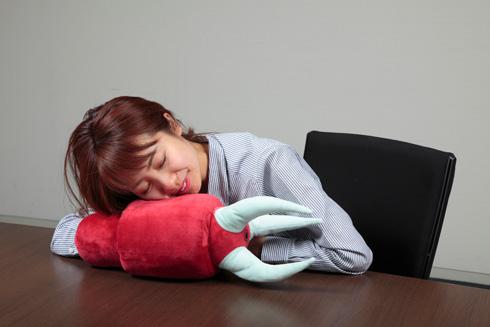 ひとやすみ腕枕(アームピロー)クッション ズゴック