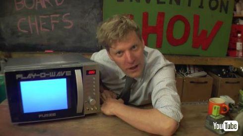 発明 YouTuber ゲーム 魔改造 電子レンジ