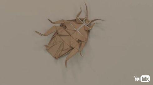 KINCHO 超難解 折り紙 キンチョール ゴキブリ