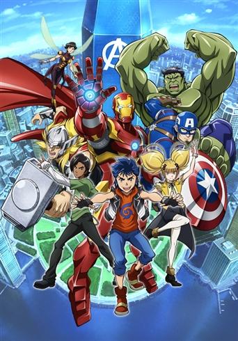 「アベンジャーズ」シリーズの新作アニメが放送決定 制作はマッドハウス