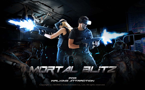 MORTAL BLiTZ FOR WALKING ATTRACTION