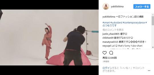 ダンスを披露する大島優子