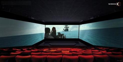 ユナイテッド・シネマ 3面 スクリーン 映画館 導入 ScreenX