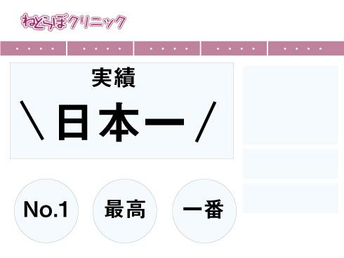 日本一のHP例