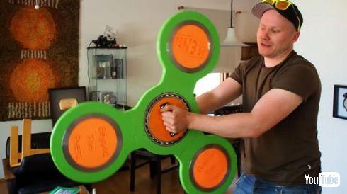 ハンドスピナー 大きい 製作 3Dプリンター