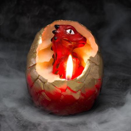 ドラゴンの卵キャンドル