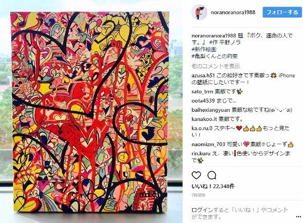 平野ノラ 絵画