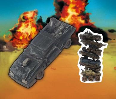 廃車世紀末コレクション カプセル フィギュア マッドマックス