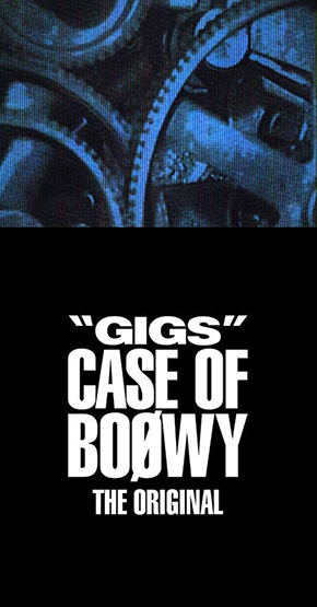 """GIGS"" CASE OF BOOWY -THE ORIGINAL-"