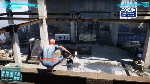 スパイダーマン e3 PS4