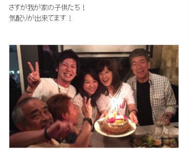 森尾由美さんの誕生日会