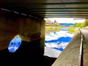 iPhoneで撮影、編集した鴨川