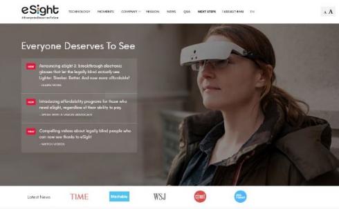 視覚障害 デバイス 結婚式 eSight