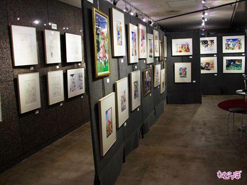 『ハヤテのごとく!』完結記念展 画廊
