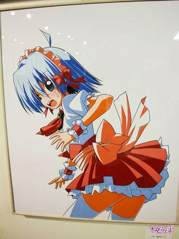 『ハヤテのごとく!』完結記念展 ハヤテ コスプレ