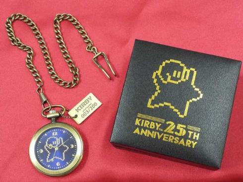 星のカービィ 25周年 アニバーサリー 懐中時計