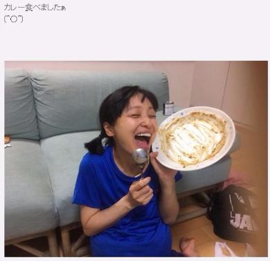 金田朋子 第一子