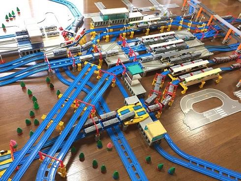 プラレール 横浜駅