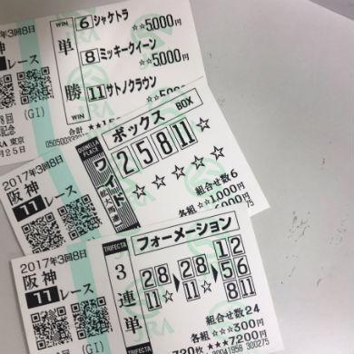 小嶋陽菜の馬券