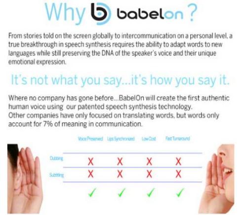 BabelOn 翻訳 再生 音声 クラウドファンディング