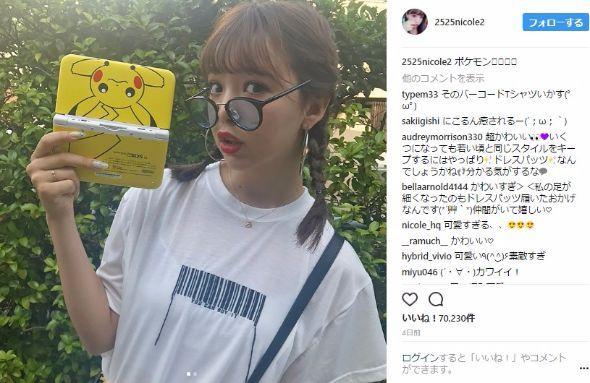 藤田ニコル Instagram