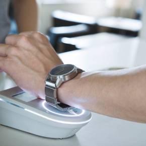 wrist 電子マネー搭載 バンド 腕時計