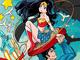 アニメで見たい! すしお、足立慎吾、高田明美ら「ワンダーウーマン」のコラボイラスト手掛ける