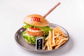 週刊少年ジャンプ展 オリジナルバーガー コラボカフェ 交通広告