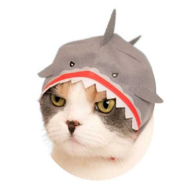 キタンクラブ ねこの水族館 猫 かぶりもの