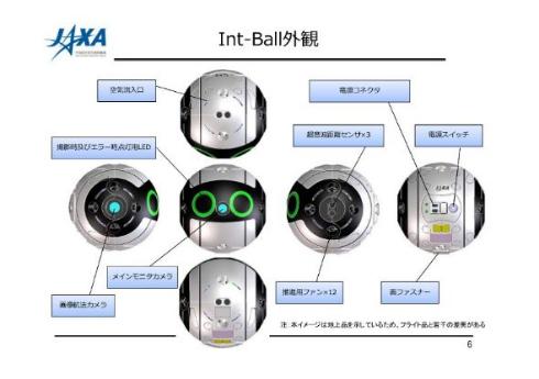 jaxa Int-Ball イントボール きぼう 船内ドローン