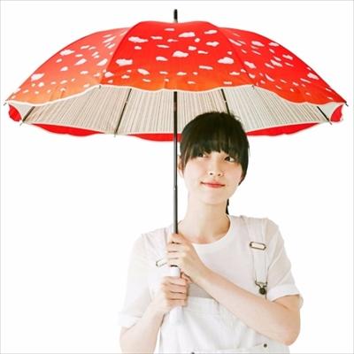 ベニテングタケの傘