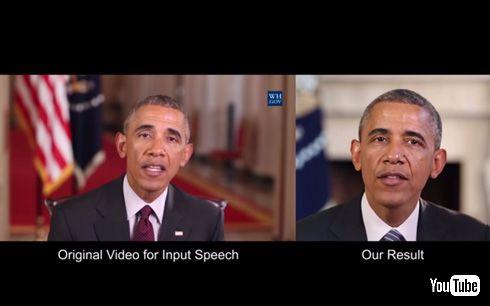 機械学習で、音声データから口パク映像生成
