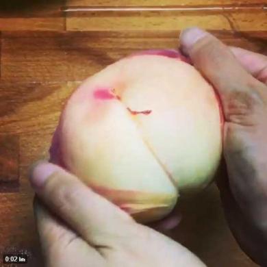 桃 皮 むき方 裏技