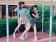 天木じゅん&黒田絢子、姉妹で息ピッタリの「TT」ダンス ファン「ずっと見てられる」