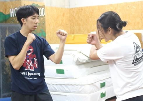 坂本浩一監督の訓練