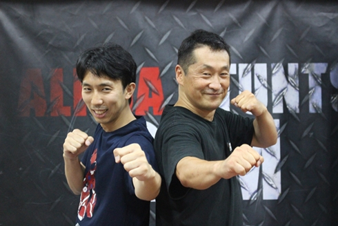 坂本浩一と監督タカユ機01さん