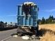 あまりの暑さにトラックに積まれたパン生地が膨張 道路までパン生地まみれでべちゃべちゃに