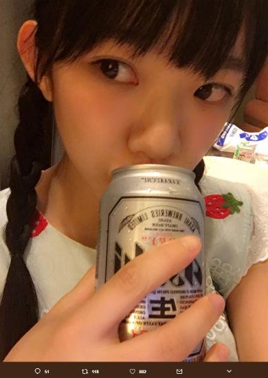 長澤茉里奈 飲酒