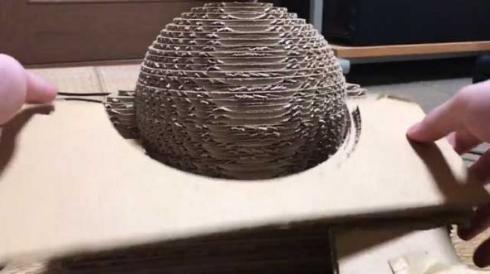 段ボール カービィ 立体