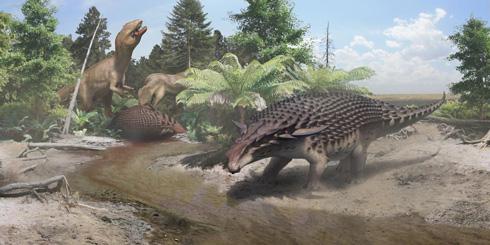 カナダで新種の恐竜「Borealopelta markmitchelli」