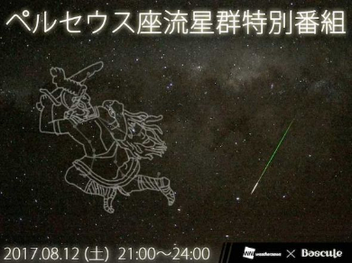 ペルセウス座流星群 観測 ウェザーニュース