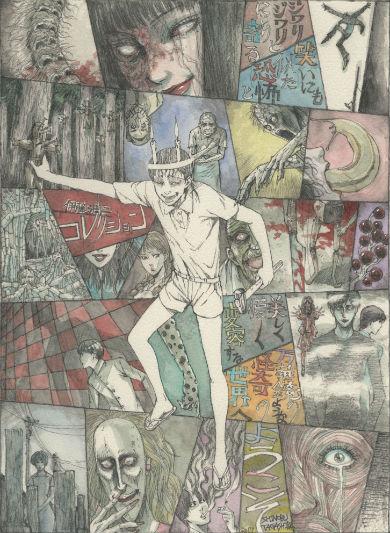 テレビアニメ「伊藤潤二傑作集」のコンセプトイメージ