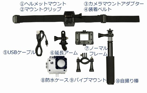 フルHDカメラ ドン・キホーテ