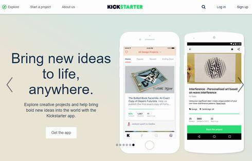 kickstarter 日本語