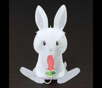 ウサギのティーバッグ