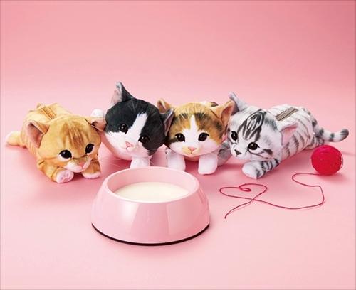 フェリシモ子猫ポーチ