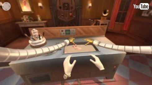 ケンタッキー VR 研修 脱出ゲーム