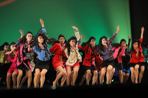 登美丘高校 日本高校ダンス部選手権 ダンシングヒーロー バブリーダンス ダンス 高校生