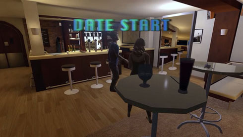VRで初対面デートする企画「Virtually Dating」